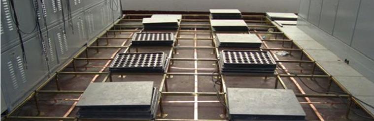 接地铜排产品施工现场图