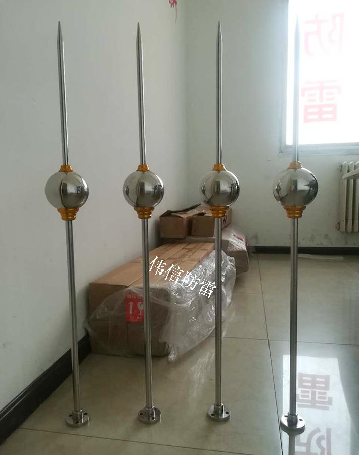 单球型优化避雷针产品图3