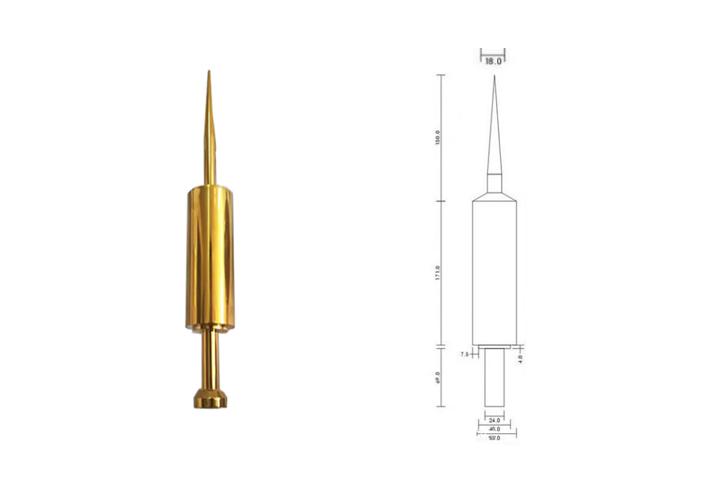 钛合金避雷针尺寸参数